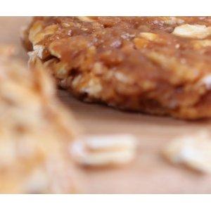 Bio&crunchy bar label