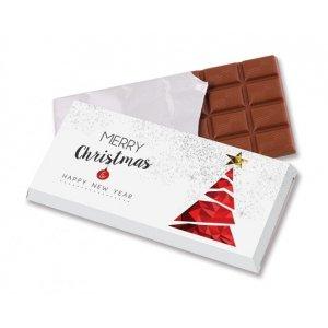 Świąteczna czekolada 100 g w kartoniku
