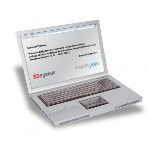 Czekoladowy laptop basic