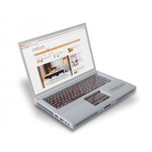 Czekoladowy laptop