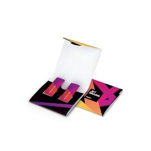 2 chewing gum sticks in box