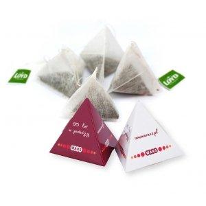 Tea pyramid