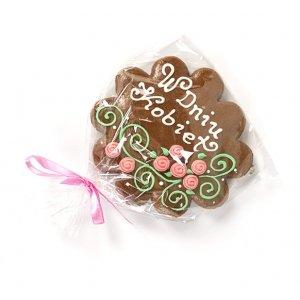 Handmade gingerbread in individual shape