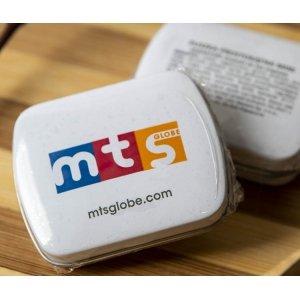 Mini hinged lid tin