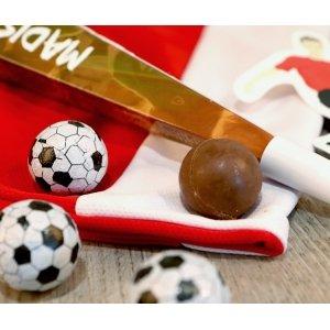 Trąbka kibica - czekoladowe piłki
