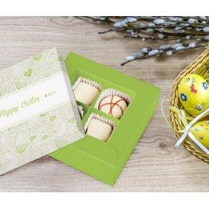 Easter hand made 4 truffles