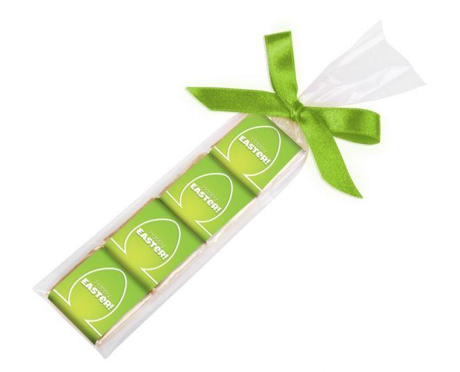 Czekoladowa zakładka - 4 czekoladki kwadratowe