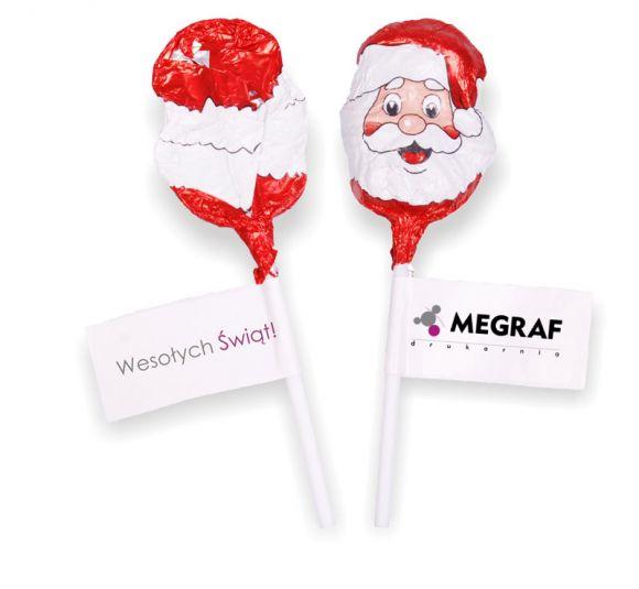 Lollipop Santa Claus