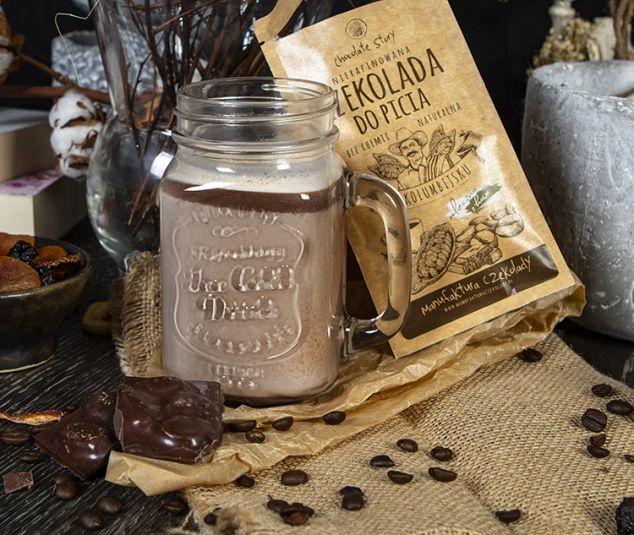 Nierafinowana czekolada do picia