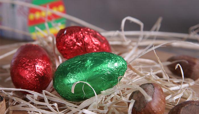 Wielkanocne słodycze reklamowe
